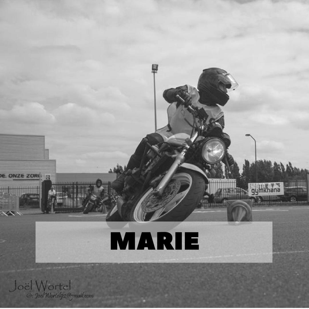 Marie - Competitie - Moto Gymkhana