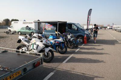 MotoGymkhana-Catalunya-Cup-motoren op rij